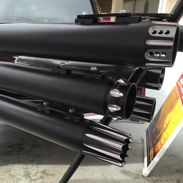 Black Ceramic Coated Motorcycle Exhaust Valves
