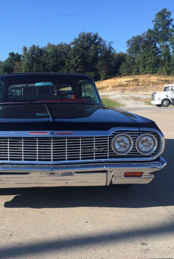 1966 Black Chevrolet Impala